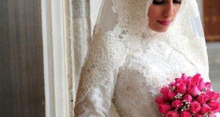 فساتين عرايس , صور فساتين حفلات الزفاف للمحجبات رائعة