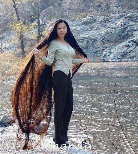 بالصور الشعر الطويل , احلى 10 صور لبنات شعرها طويل وناعم 4048 7