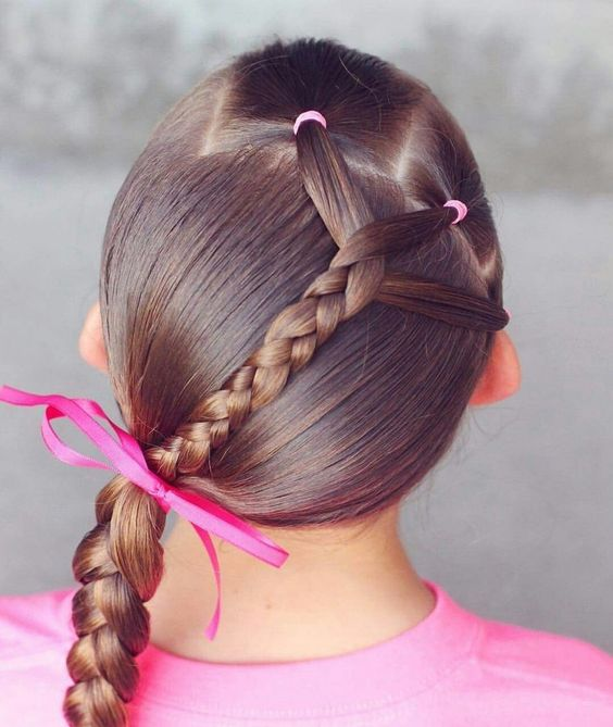 بالصور احلى تسريحات اطفال , صور تسريحة بنات صغيرة 4082 2