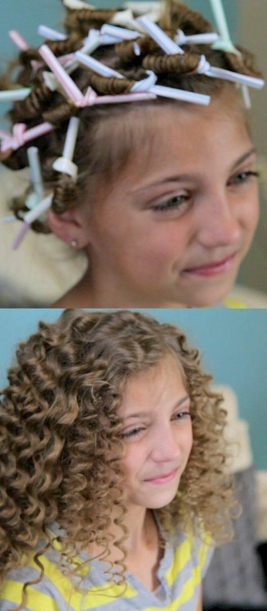 بالصور احلى تسريحات اطفال , صور تسريحة بنات صغيرة 4082 8
