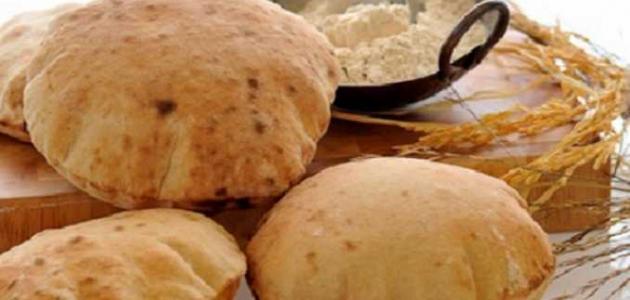 صورة السعرات الحرارية في الخبز , كم هي سعرة الحرارية في رغيف الخبز