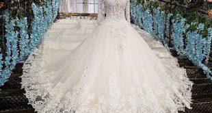 بالصور موضة فساتين زفاف 2019 , كولكشن جامد جدا لكل عروسه 4699 10 310x165