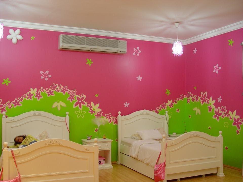 بالصور نقاشة غرف اطفال , اشكال لغرف نوم الاطفال 4750 1