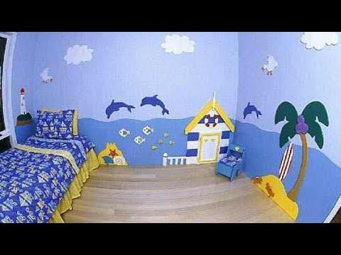 بالصور نقاشة غرف اطفال , اشكال لغرف نوم الاطفال 4750 4
