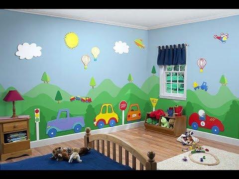 بالصور نقاشة غرف اطفال , اشكال لغرف نوم الاطفال 4750 5