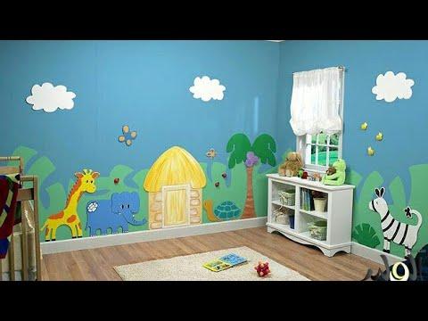 بالصور نقاشة غرف اطفال , اشكال لغرف نوم الاطفال 4750 7