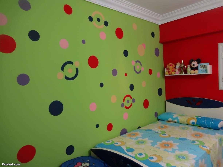 بالصور نقاشة غرف اطفال , اشكال لغرف نوم الاطفال 4750 9