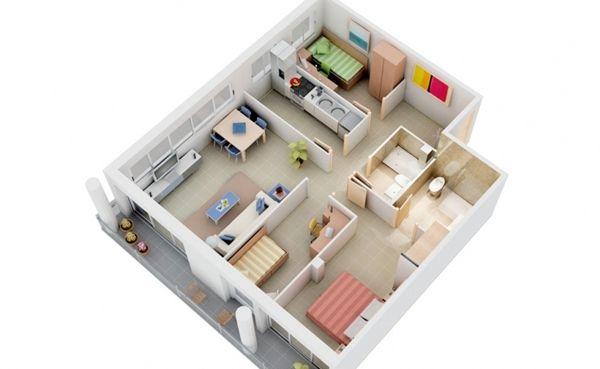 بالصور منازل صغيرة وجميلة , اجمل تصاميم المنازل 4825 5