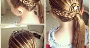 صوره طريقة تسريح الشعر , اسهل طرق تسريح الشعر للاطفال