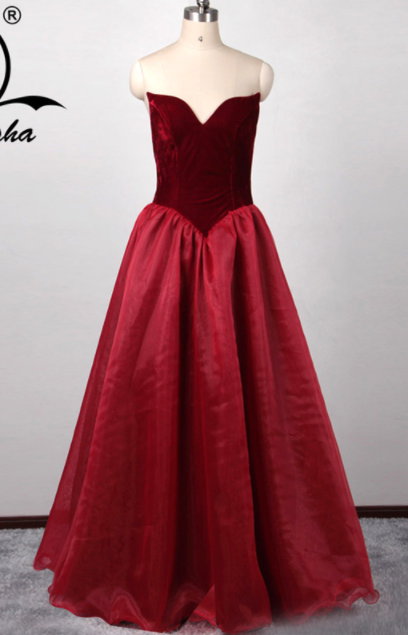 صورة موديلات فساتين للسمينات , موديل جميل من الفساتين