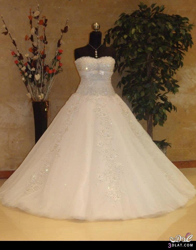 صوره موديلات فساتين زفاف 2019 , كولكشن رائع لفستان الفرح