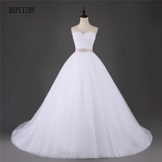 بالصور موديلات فساتين زفاف 2019 , كولكشن رائع لفستان الفرح 4894 10