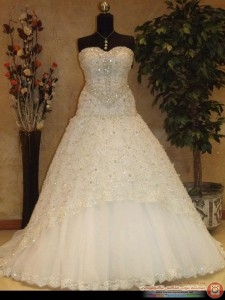 بالصور موديلات فساتين زفاف 2019 , كولكشن رائع لفستان الفرح 4894 2