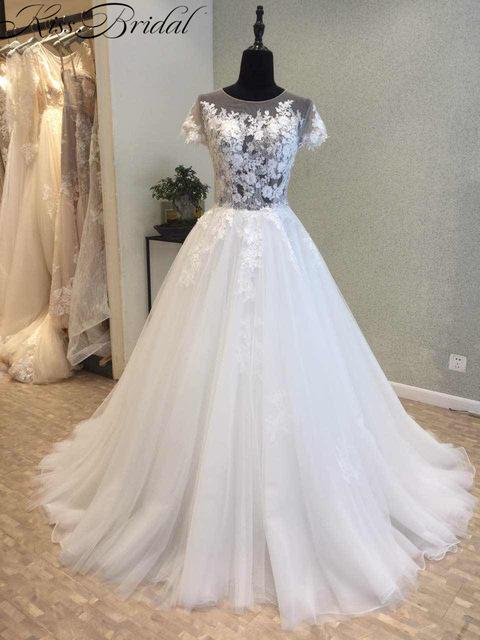 بالصور موديلات فساتين زفاف 2019 , كولكشن رائع لفستان الفرح 4894 4