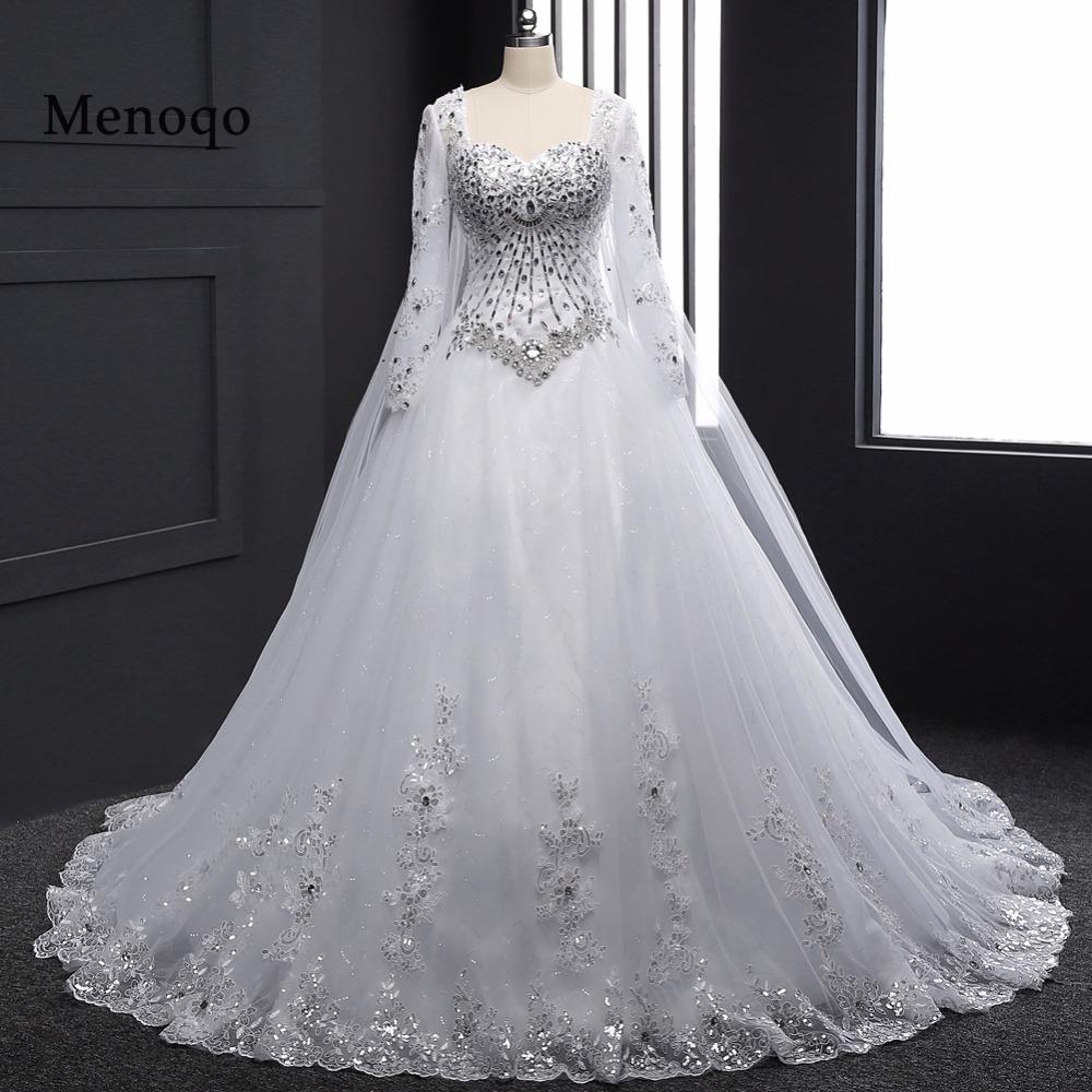 بالصور موديلات فساتين زفاف 2019 , كولكشن رائع لفستان الفرح 4894 9