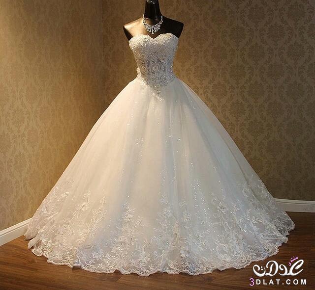 صور موديلات فساتين زفاف 2019 , كولكشن رائع لفستان الفرح