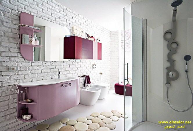 بالصور اجمل الحمامات المنزلية , حمام البيت العصرى 4895 6