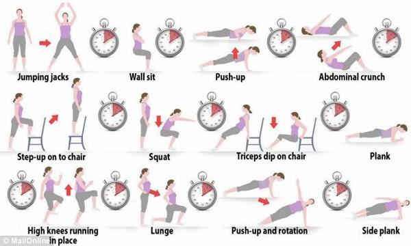 بالصور حركات رياضية لتخفيف الوزن , تمارين رياضيه بالصور لحرق الدهون 4943 2