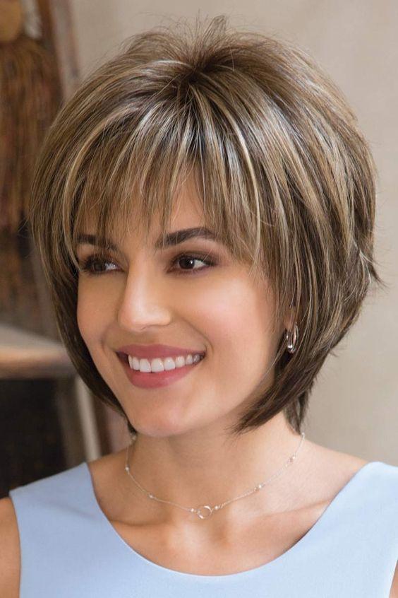 بالصور قصات شعر للوجه الصغير , اكتشفى قصه الشعر المناسبه لكى 5855 2