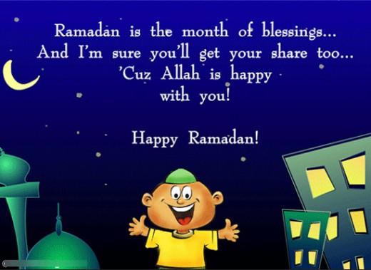 بالصور رسائل رمضانية 2019 , اجمل واروع الرسائل لتهنئه بشهر الخير 5860 3