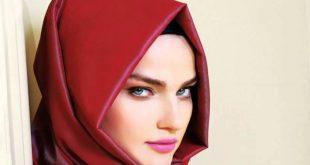 صورة احدث لفات الطرح للمحجبات , اجدد واروع لفات الحجاب تحفففه