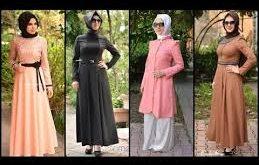 صوره لباس المحجبات المغربيات , اروع اطلالات مغربيه للمحجبات