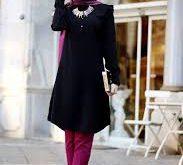 صورة لباس المحجبات تركي , اروع ملابس محجبات تركى
