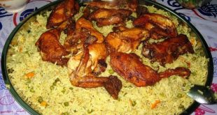 صورة طريقة عمل اوزي الدجاج , اوزي الدجاج بالارز و الخضار