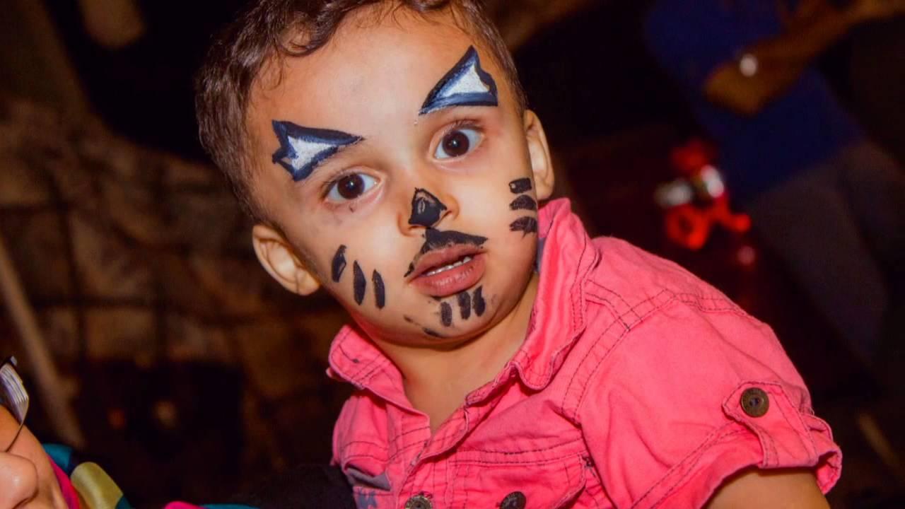 رسم على الوجه بسيط للاطفال صور اجمل رسوم بسيطة بالالوان علي وجوه