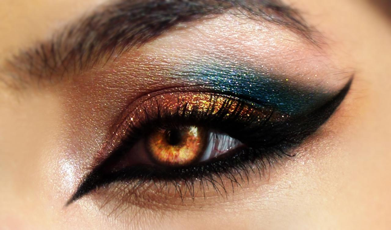 صورة احدث مكياج العيون , ومعرفه طريقه وضعه ع العيون