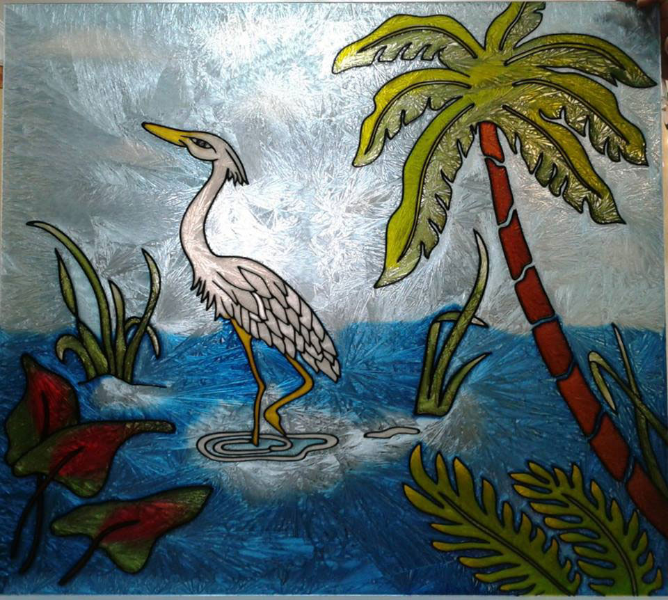 بالصور فن الرسم على الزجاج بالصور , تعرف علي طريقة الرسم علي الزجاج 13769 1
