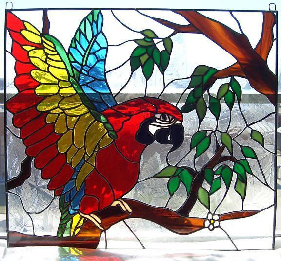 بالصور فن الرسم على الزجاج بالصور , تعرف علي طريقة الرسم علي الزجاج 13769 2