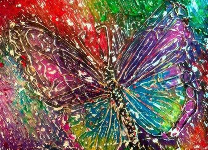 بالصور فن الرسم على الزجاج بالصور , تعرف علي طريقة الرسم علي الزجاج 13769 4