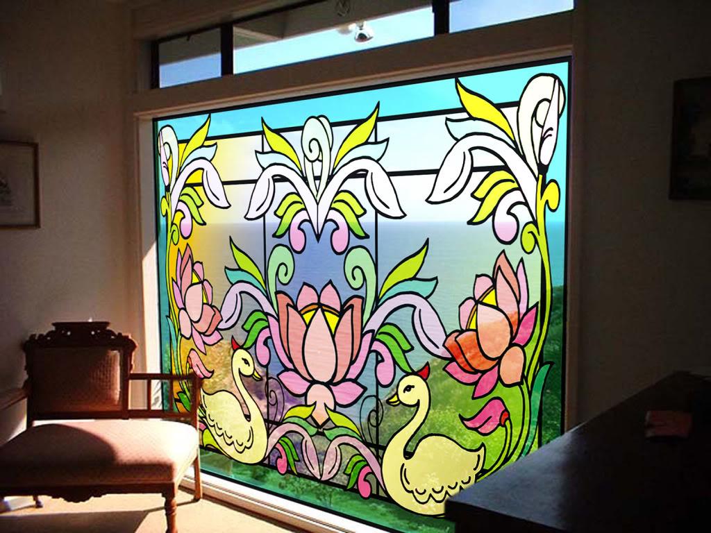 بالصور فن الرسم على الزجاج بالصور , تعرف علي طريقة الرسم علي الزجاج 13769 5