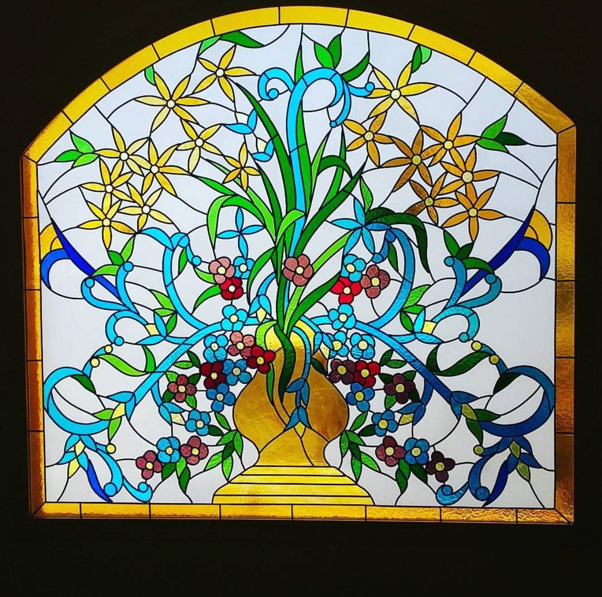 بالصور فن الرسم على الزجاج بالصور , تعرف علي طريقة الرسم علي الزجاج 13769 6