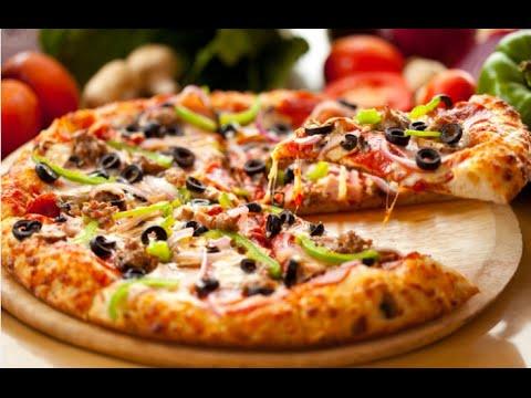 صورة وصفات بيتزا سهلة , اسهل طريقة لعمل البيتزا
