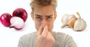 بالصور يستخدم للتخلص من رائحة الثوم والبصل , التخلص من رائحة الثوم و البصل من الفم و الايد