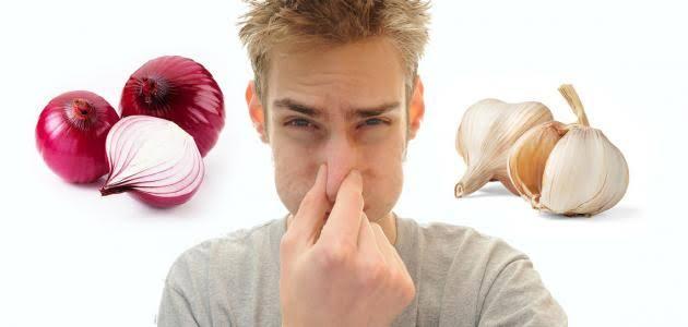 صور يستخدم للتخلص من رائحة الثوم والبصل , التخلص من رائحة الثوم و البصل من الفم و الايد