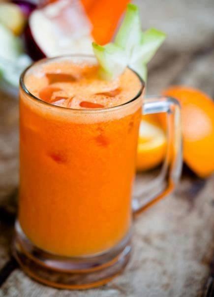 صورة فوائد عصير البرتقال والجزر , تعرف علي القيمة الغذائية لعصير البرتقال و الجزر