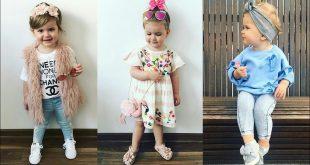 صورة احدث صيحات الموضة للاطفال , تصميمات مختلفة لملابس الاطفال