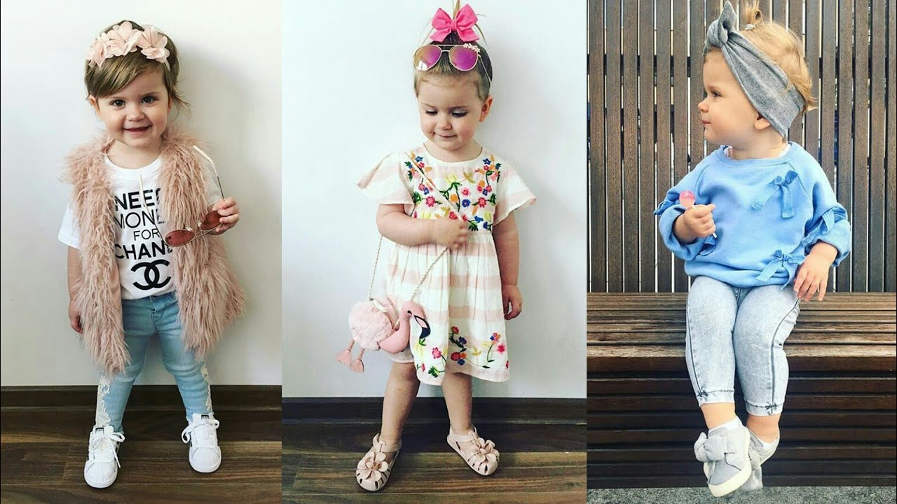 صور احدث صيحات الموضة للاطفال , تصميمات مختلفة لملابس الاطفال