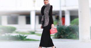 صورة موديلات 2019 للمحجبات , اجدد صيحات موضة لبس المحجبات