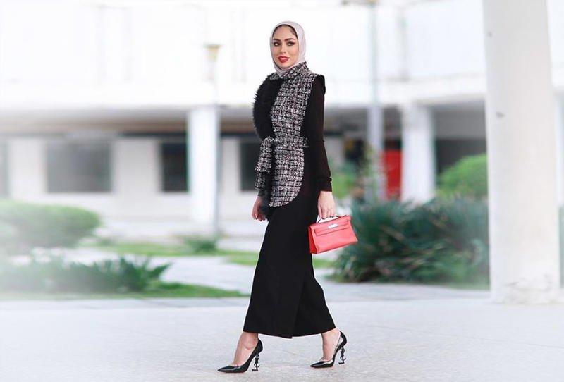 بالصور موديلات 2019 للمحجبات , اجدد صيحات موضة لبس المحجبات 12359