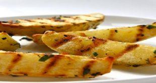 صورة طريقة عمل البطاطا المشوية , كيفيه طهى اشهى شوى للبطاطس