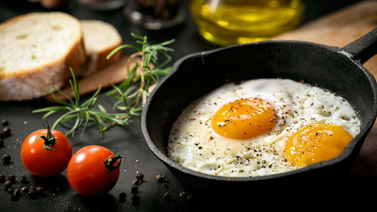 صورة فوائد البيض المقلي , اهميه البيض المقلى