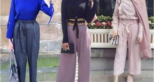 صورة حكم لبس البنطلون الواسع للنساء , هل لبس البنطلون حلال ام حرام