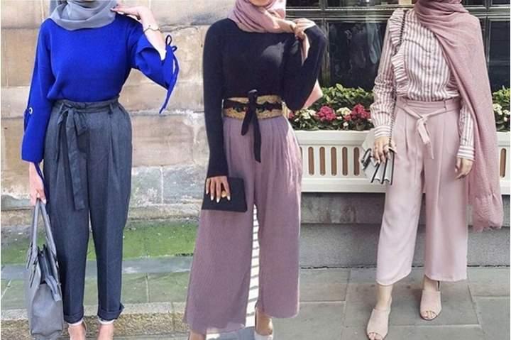 صور حكم لبس البنطلون الواسع للنساء , هل لبس البنطلون حلال ام حرام
