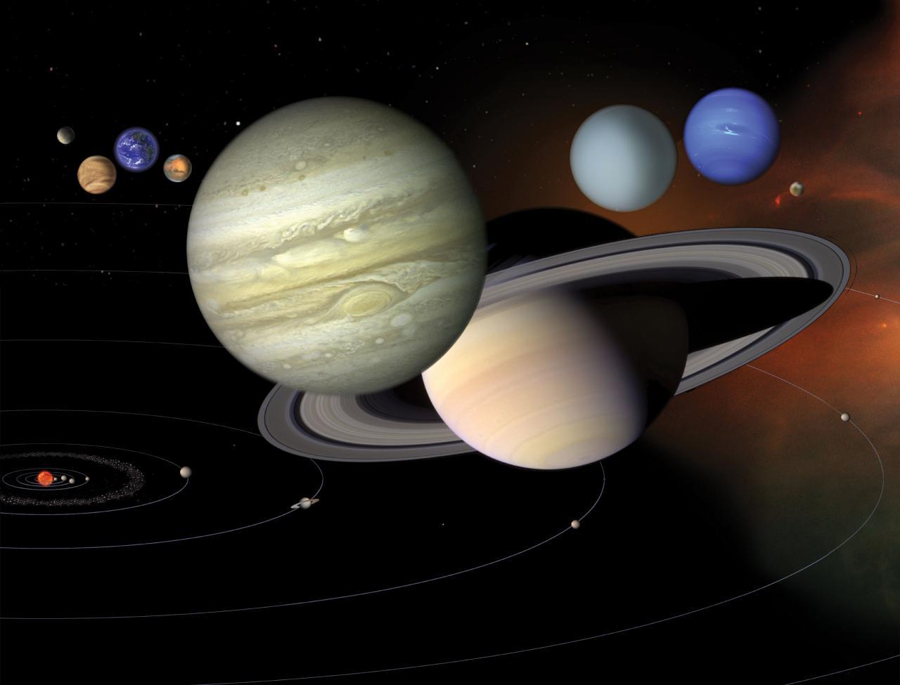 صور كواكب المجموعة الشمسية بالترتيب , اهم المعلومات عن الكواكب الشمسيه