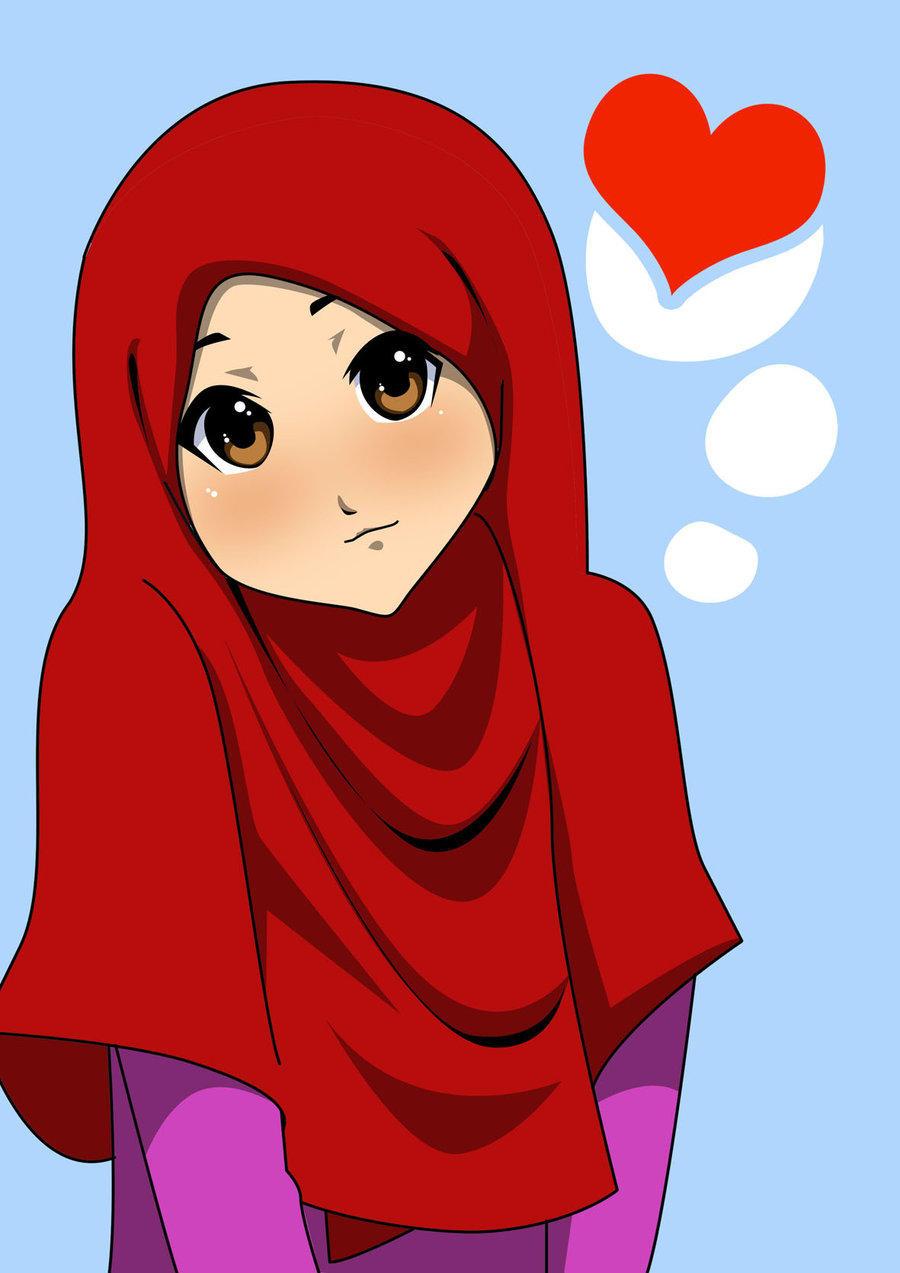 صورة صور اسلاميه كرتون , اجمل صور بنات اسلاميه كرتونيه