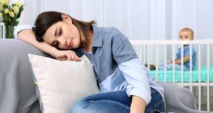 صور اعراض اكتئاب النفاس , اكتئاب ما بعد الولاده للام